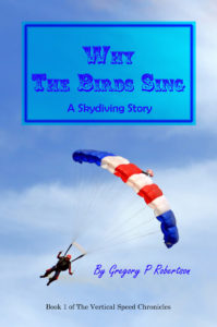 Military parachute jump celebration